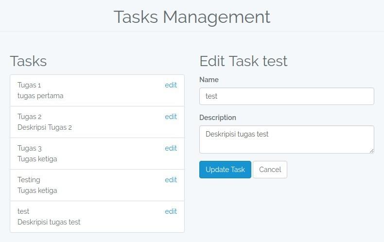 Perbaikan Daftar Task