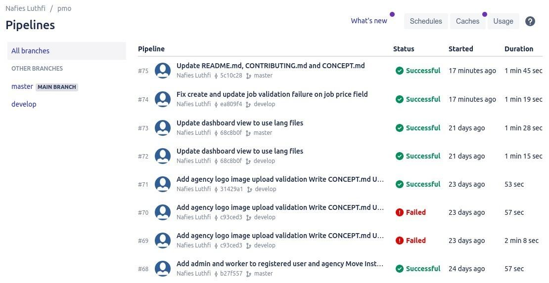 Layanan Bitbucket Pipeline