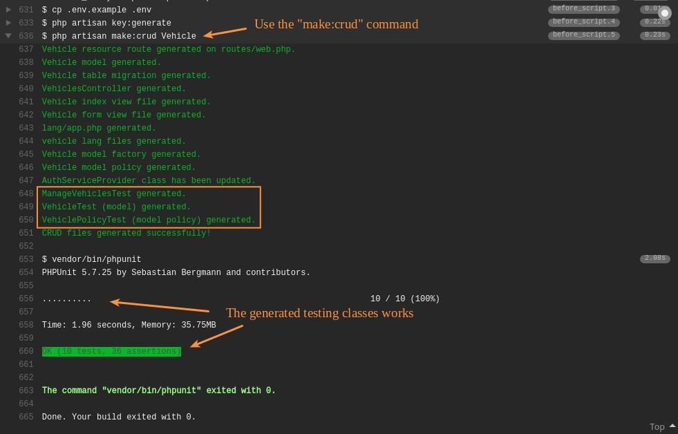 Pengujuan SimpleCRUDGenerator pada laravel 5.3