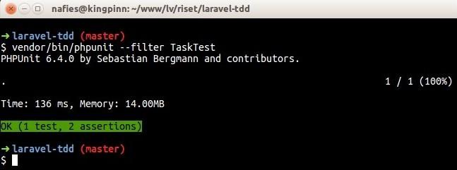 toggleStatus method test passed