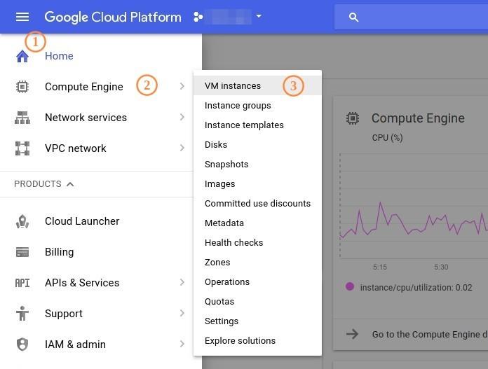 Google Cloud Engine Create