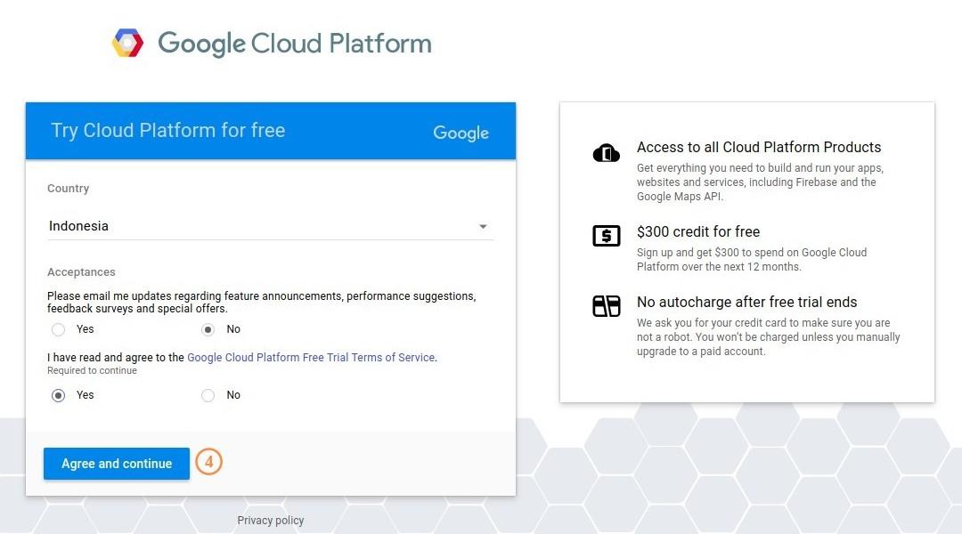 Google Cloud Platform Acceptance