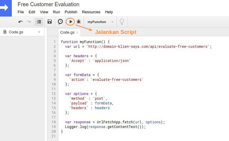 Google App Script Function