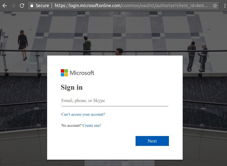 Microsoft Login Account