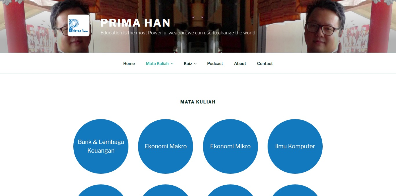 Mata Kuliah Primahan.com