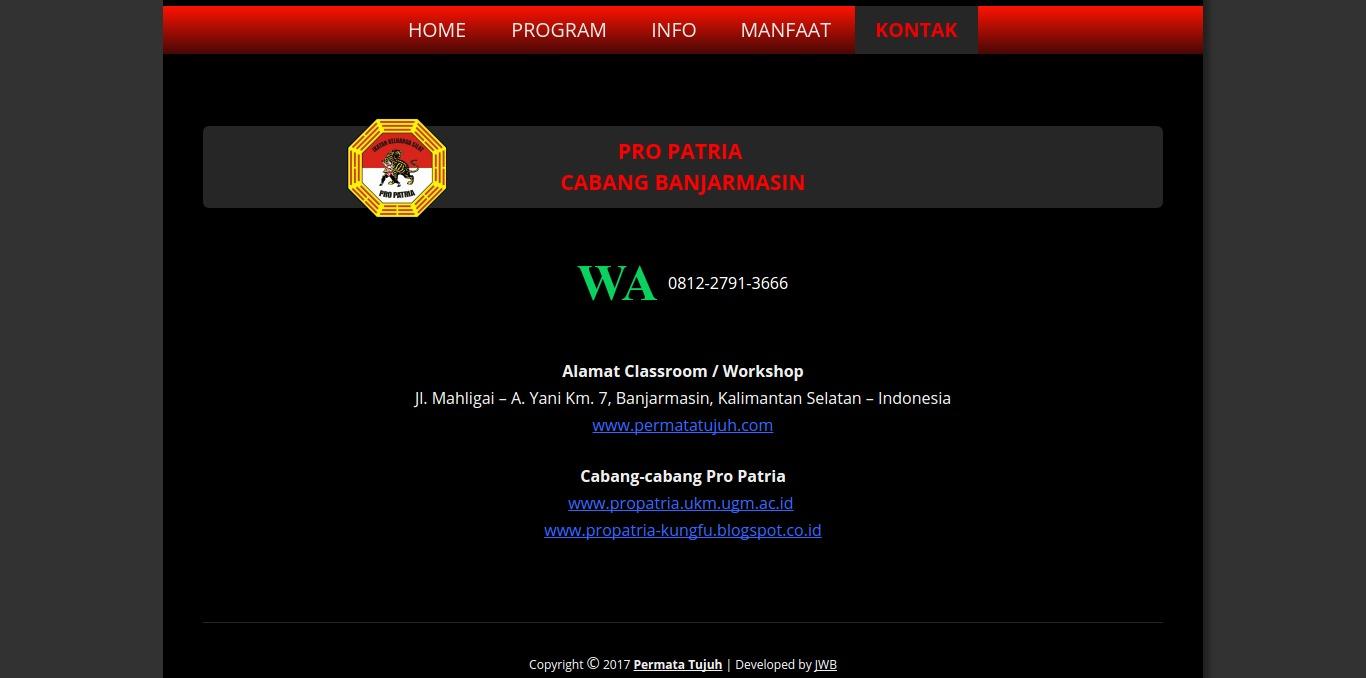 Contact Permatatujuh.com